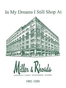 """In My Dreams I Still Shop at Miller & Rhoads"" Notecards (set of 8)"
